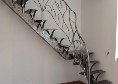 Escalier fer Aulnay