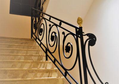 rampe d'escalier pavillons sous bois